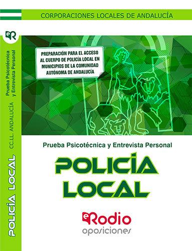 Policia local. corporaciones locales de andalucia. psicotecn