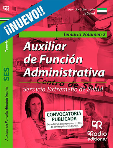 Auxiliar de funcion administrativa del servicio extremeño de