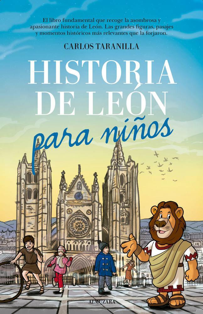 Historia de leon para niños