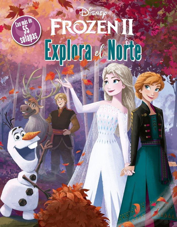 Frozen 2 explora el norte libro con solapa