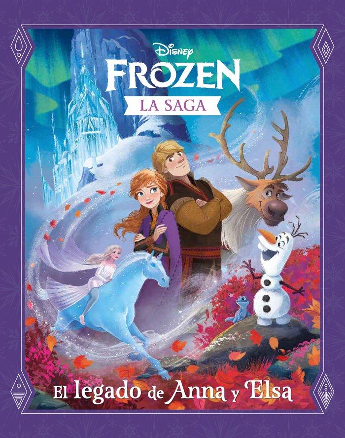 Frozen la saga el legado de anna y elsa