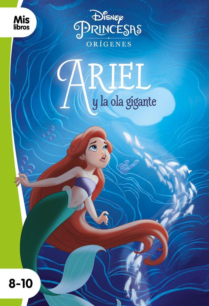 Princesas ariel y la ola gigante narrativa