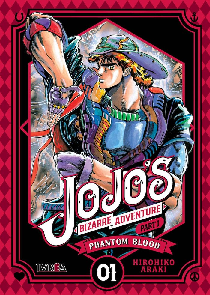 Jojos bizarre adventure parte i phantom blood 01