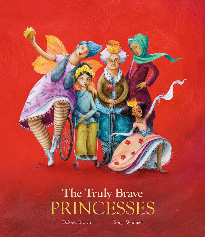 Truly brave princesses,the ingles