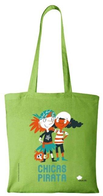 Bolsa chicas pirata verde