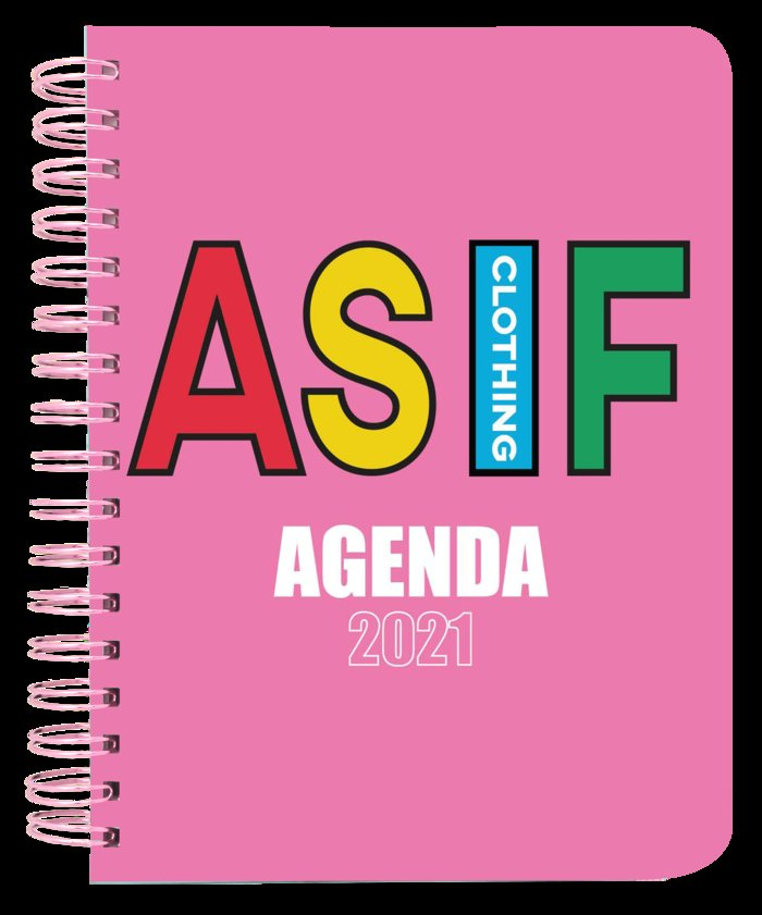 Agenda anual semana vista 2021 as if