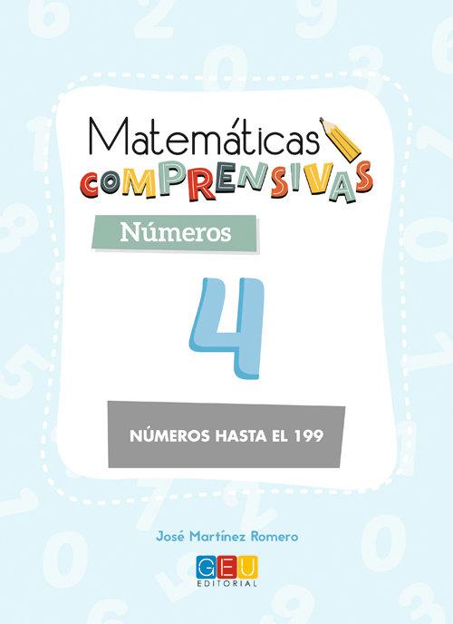 Matematicas comprensivas numeros 4