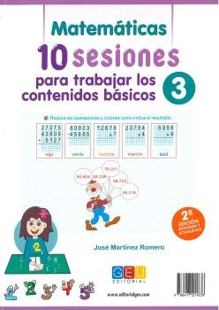 10 sesiones para trabajar contenidos basicos 3 2ªed