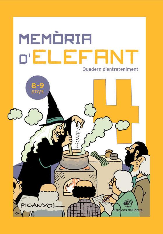 Memoria delefant 4 8 9 anys