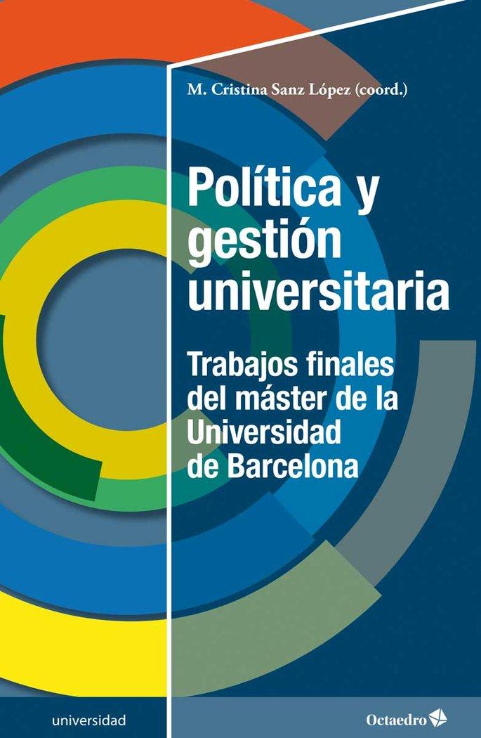 Politica y gestion universitaria