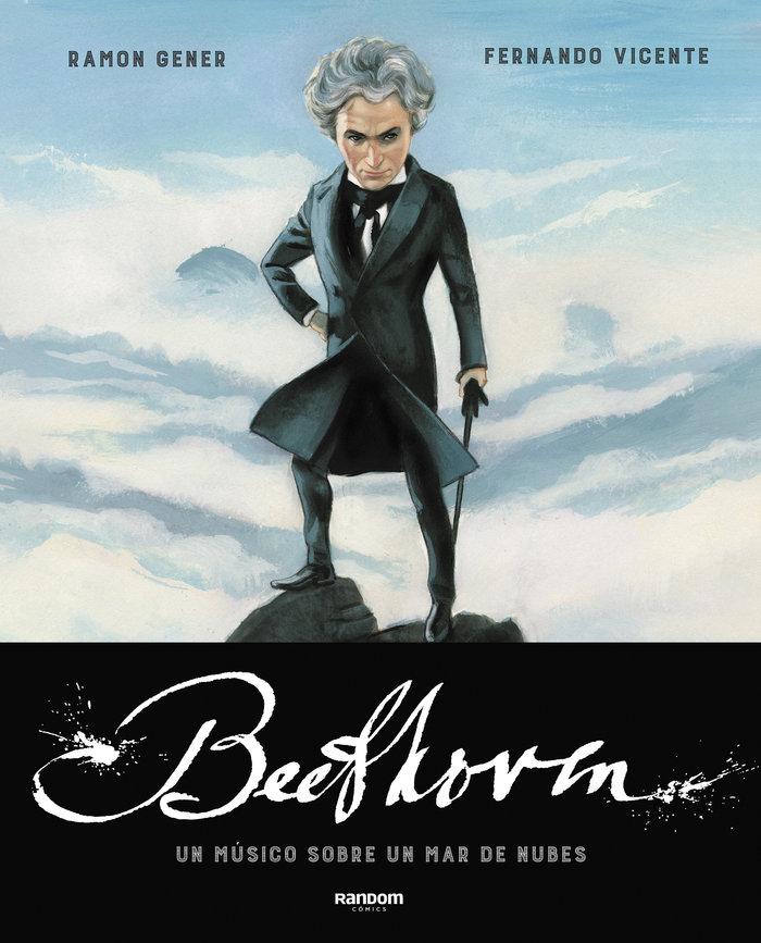 Beethoven un musico sobre un mar de nubes