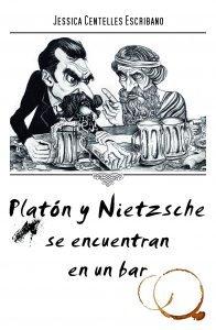 Platon y nietzsche se encuentran en un bar