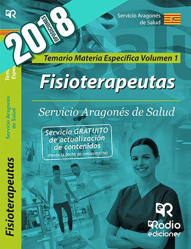 Fisioterapeutas del servicio aragones de salud. temario espe