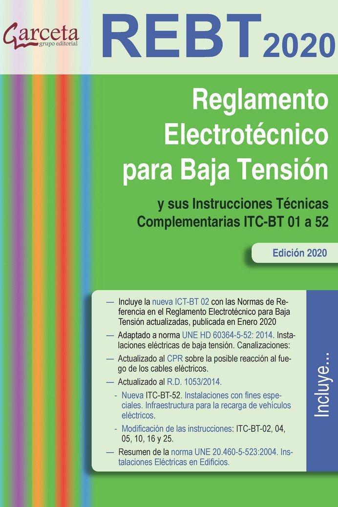 Reglamento electrotecnico para baja tension 2020