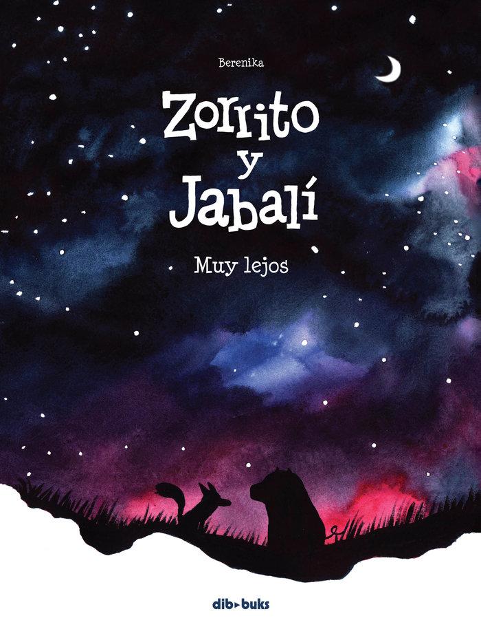 Zorrito y jabali muy lejos