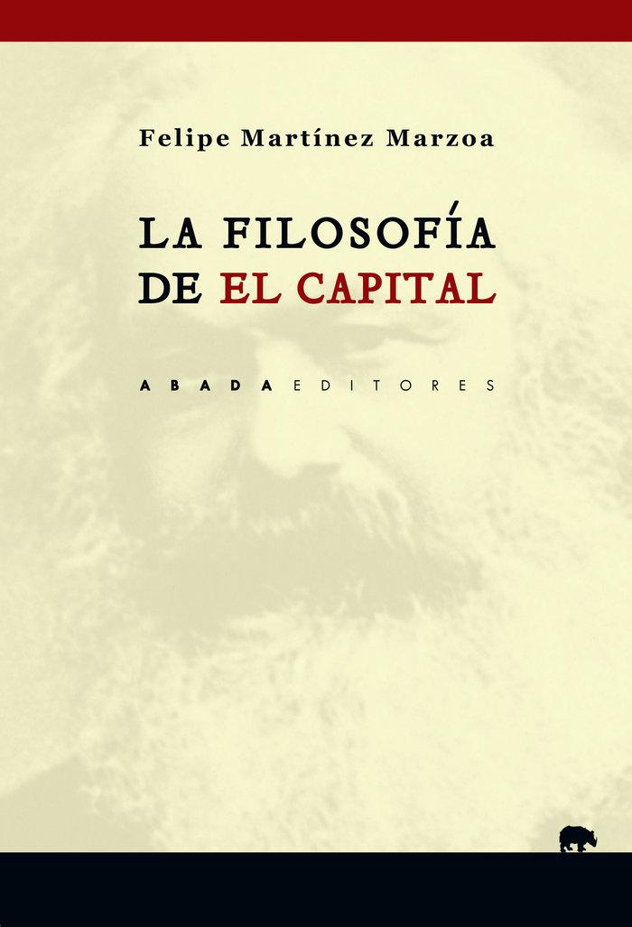 Filosofia de el capital,la