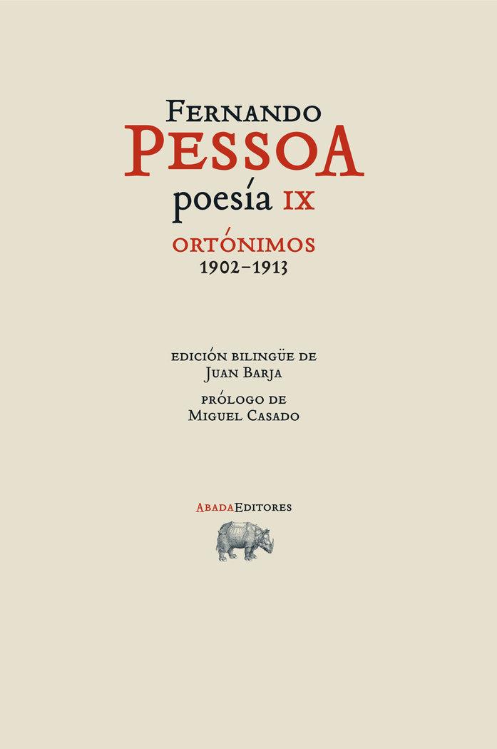 Poesia ix ortonimos 1902 1913