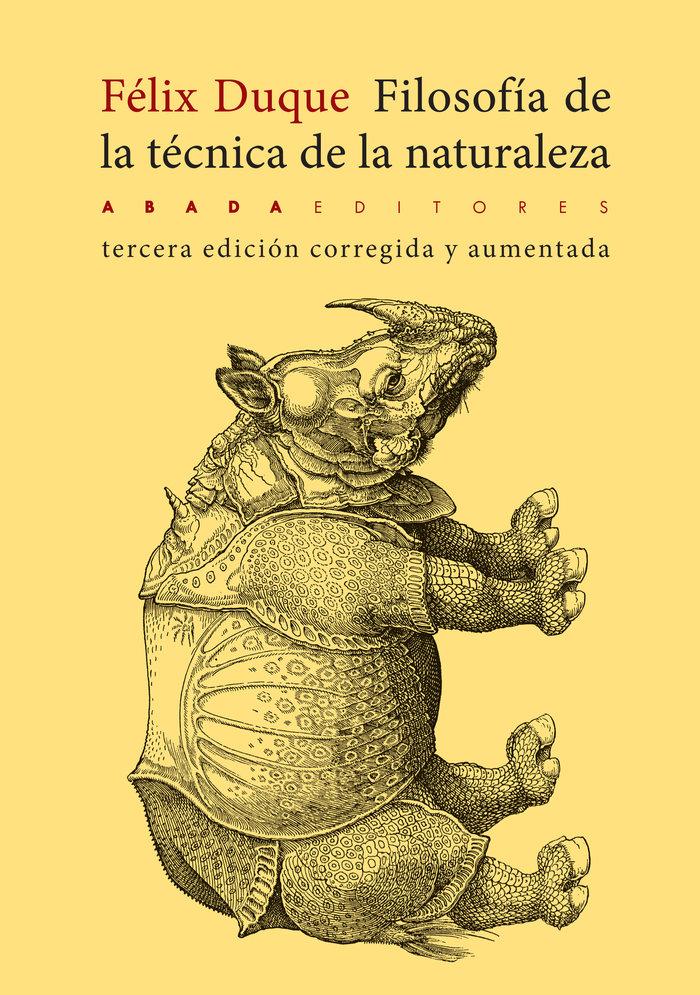 Filosofia de la tecnica de la naturaleza