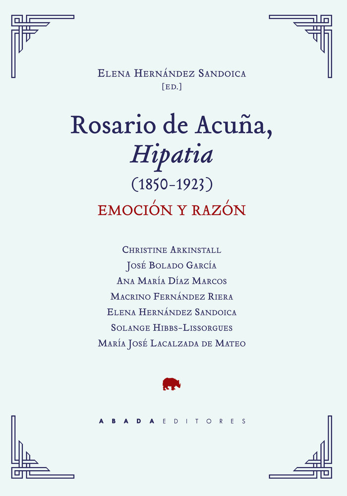 Rosario de acuña hipatia 1850 1923