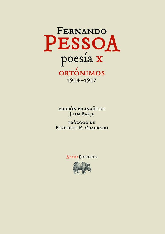 Poesia x ortonimos 1914 1917