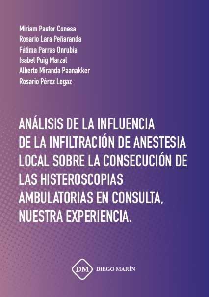Analisis de la influencia de la infiltracion de anestesia lo