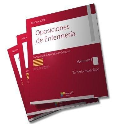 Manual cto de oposiciones de enfermeria de cataluña - temari