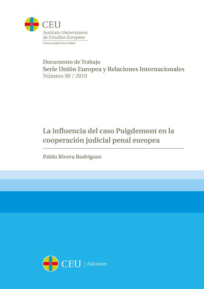 La influencia del caso puigdemont en la cooperacion judicial