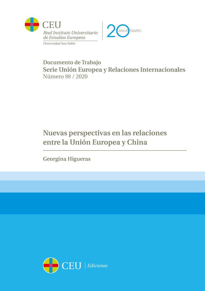 Nuevas perspectivas en las relaciones entre la union europea