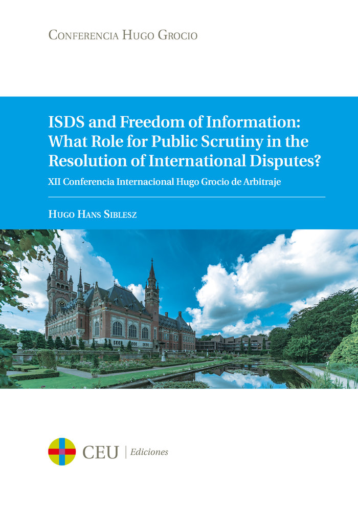 Isds and freedom of information what role