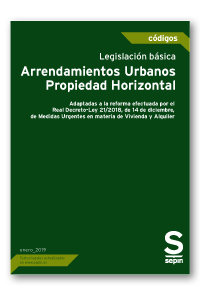 Legislacion basica. arrendamientos urbanos-propiedad horizon