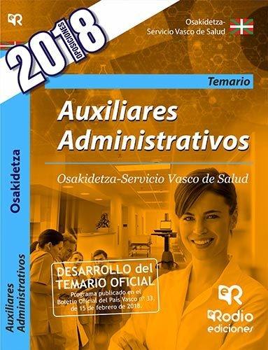 Auxiliares administrativos. osakidetza-servicio vasco de sal