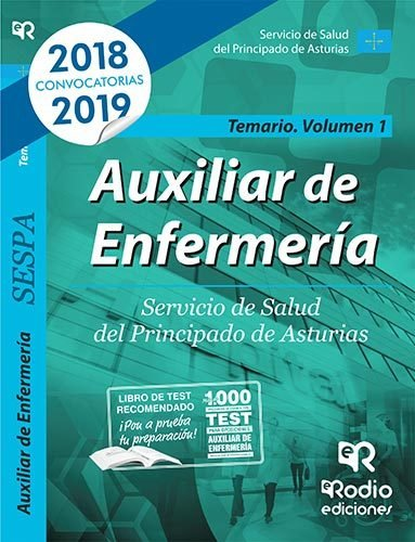 Auxiliar enfermeria servicio salud principado asturias v 1