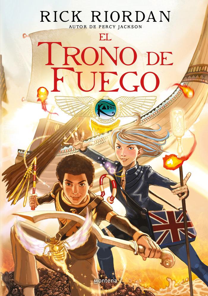 Trono de fuego - las cronicas de los kane. comic 2,el