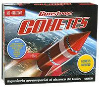 Kit creativo construye cohetes