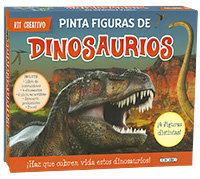 Kit creativo pinta figuras de dinosaurios