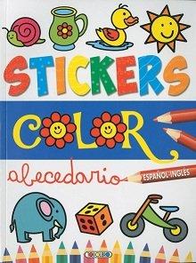 Stickers color español ingles 1