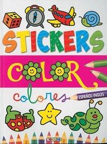 Stickers color español ingles 2