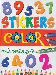 Stickers color español ingles 3