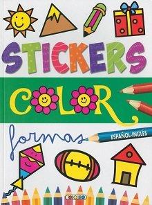 Stickers color español ingles 4