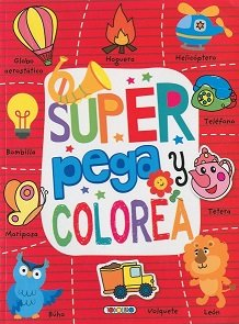 Super pega y colorea 2