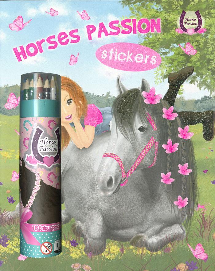 Pinturas horses passion sticke