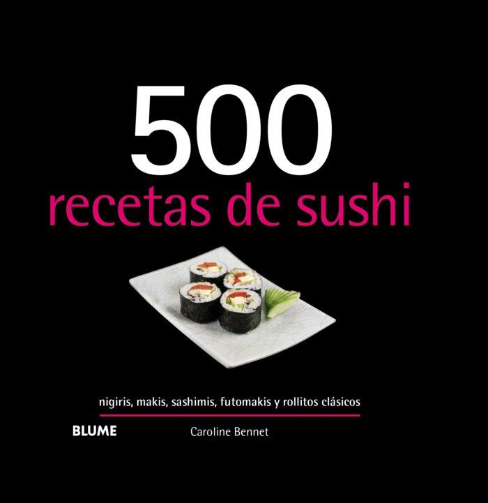 500 recetas de sushi 2019