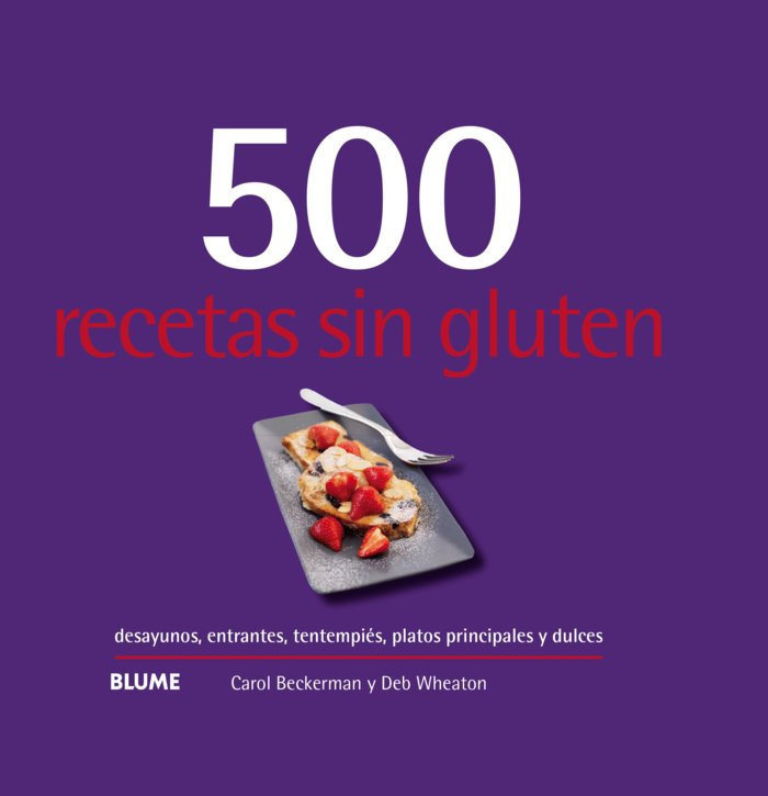 500 recetas sin gluten 2019