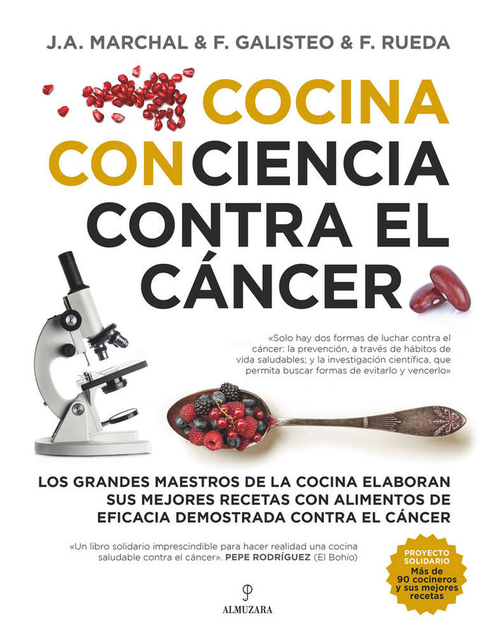 Cocina con ciencia contra el cancer