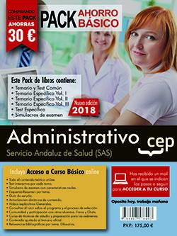 Pack ahorro basico administrativo servicio andaluz salud