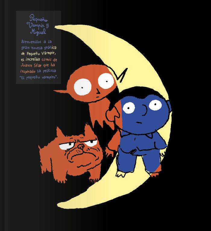 Pequeño vampir y miguel