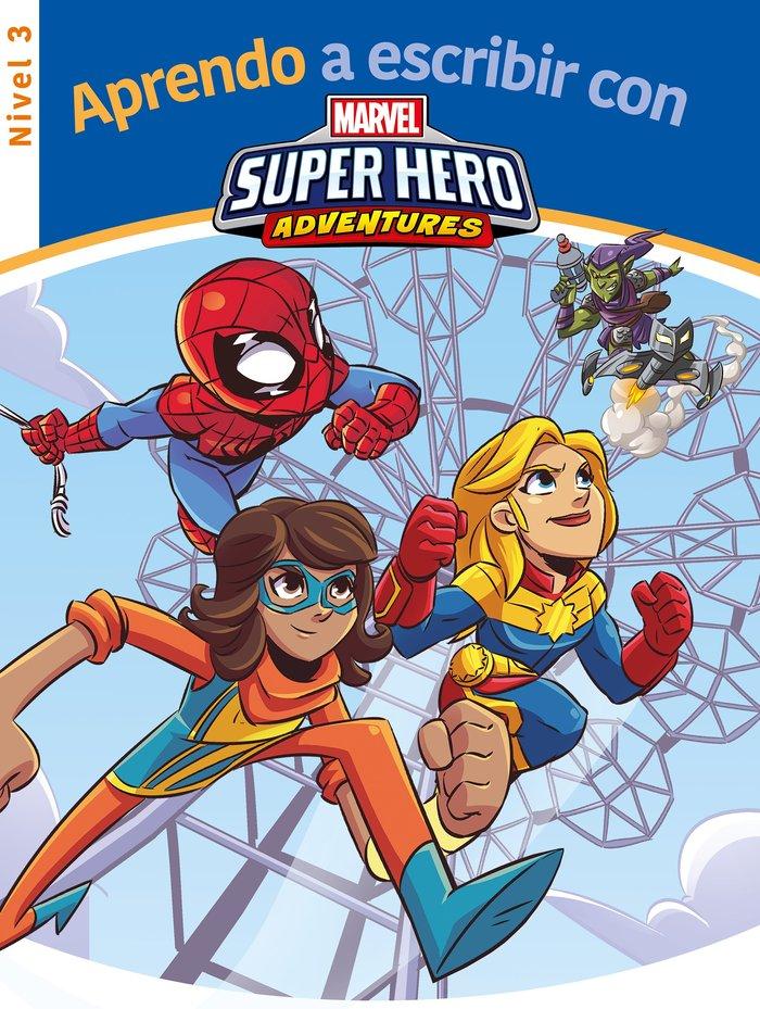 Aprendo a escribir con los superheroes marvel - nivel 3 (apr