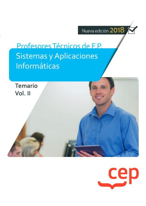 Cuerpo de profesores tecnicos de f.p.  sistemas y aplicacion