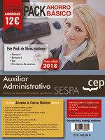 Pack ahorro basico auxiliar administrativo servicio princip