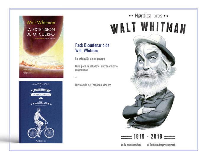 Pack bicentenario walt whitman